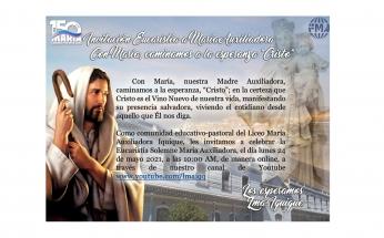 INVITACIÓN - EUCARISTÍA A MARÍA AUXILIADORA