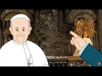 Buenos días 28 de Abril: María madre De la Iglesia - Oración 2 básico B LMA Iquique